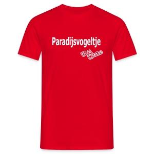 Mannen: Paradijsvogeltje - Mannen T-shirt