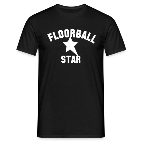 Floorball Star (h) - T-shirt herr