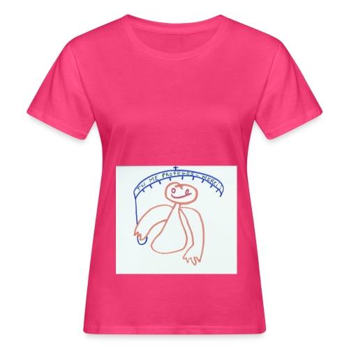 T-SHIRT FEMME ROSE JEJUMIJY ET SON PARAPLUIE - T-shirt bio Femme