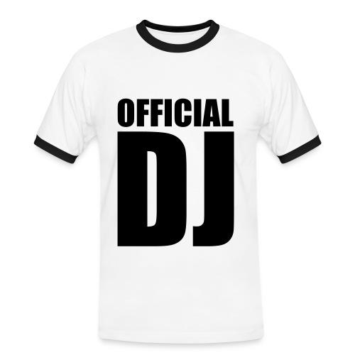 official dj t-shirt - Men's Ringer Shirt