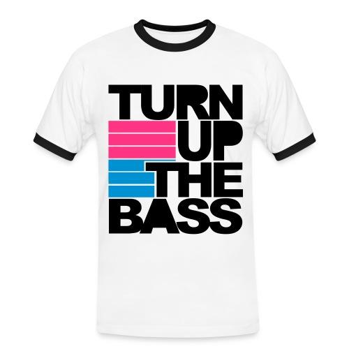 Turn up the bass - Men's Ringer Shirt