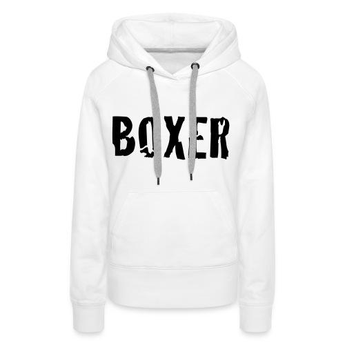 Boxer - Premiumluvtröja dam