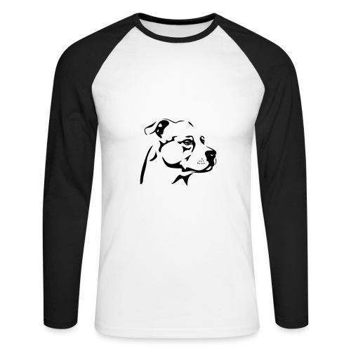 Herren Shirt LA - Männer Baseballshirt langarm