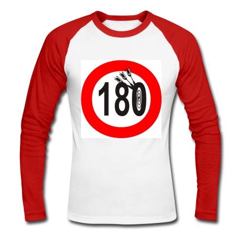 180-langarm1 - Männer Baseballshirt langarm
