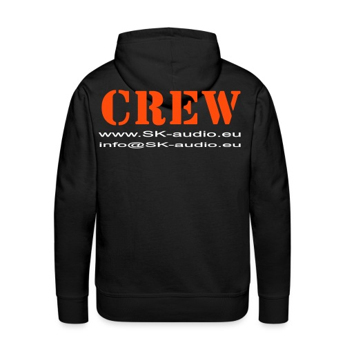 SK audio - Crew Pullover - Männer Premium Hoodie