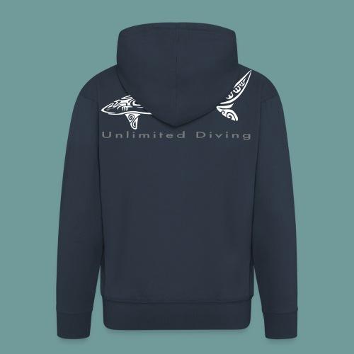 VestCap SharkUD - Veste à capuche Premium Homme