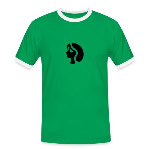 Fotografen Retro-Shirt. Portrait - Männer Kontrast-T-Shirt
