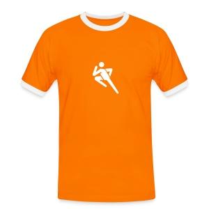Fotografen Retro-Shirt. Sportfotograf - Männer Kontrast-T-Shirt