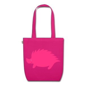 Hedgehog bag pink - EarthPositive Tote Bag