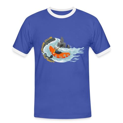 SS Contrast Tee - Men's Ringer Shirt
