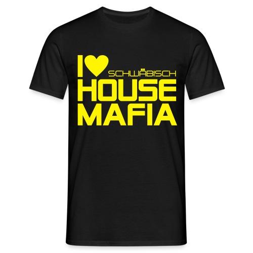 I Love schwäbisch House Mafia - Hütte Göttelfingen Edition Boy - Männer T-Shirt