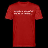 T-shirts ~ Ekologisk T-shirt herr ~ Fantastiskt + pratbubbla