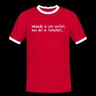 T-shirts ~ Kontrast-T-shirt herr ~ Fantastiskt - v2 - herr