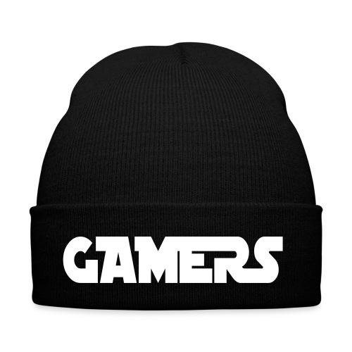 Bonnet d'hiver Noir Gamers - Bonnet d'hiver