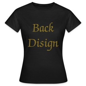 Back Disign Elegance OR - T-shirt Femme