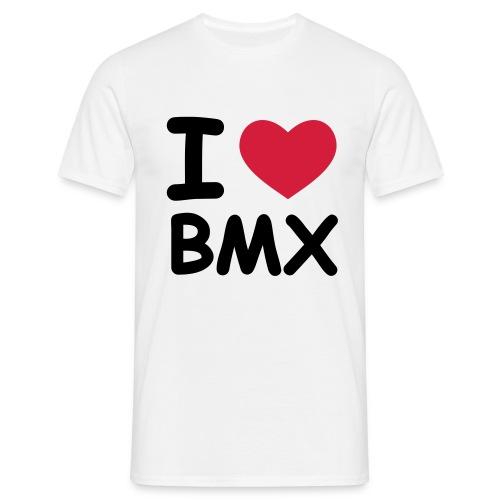I Love BMX - Men's T-Shirt