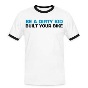 TS DIRTY KID WH - T-shirt contrasté Homme
