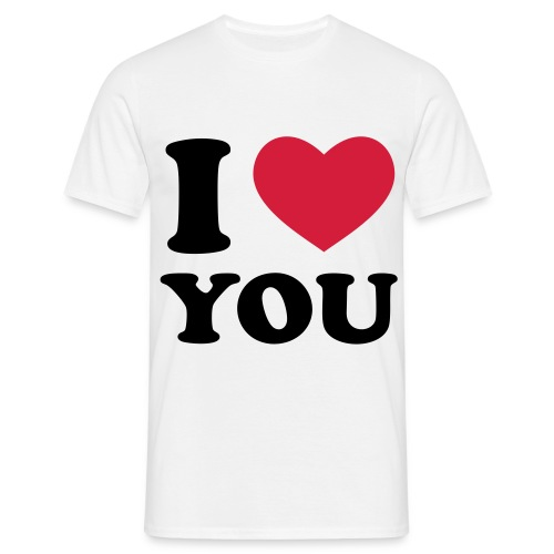 I ♥ You  - Männer T-Shirt