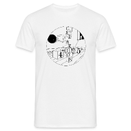 T-Shirts ~ Men's T-Shirt ~ Creation 45 White