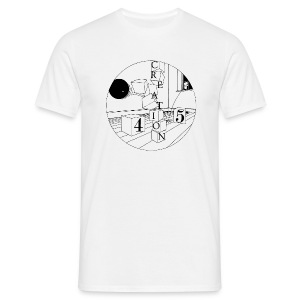 Creation 45 White - Men's T-Shirt