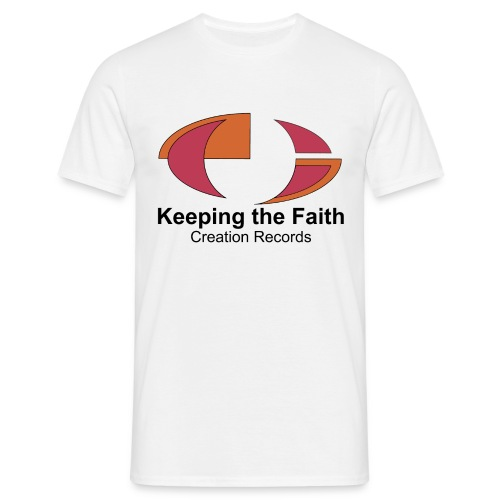 Keeping The Faith - Men's T-Shirt