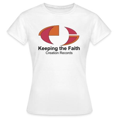 Keeping The Faith - Women's T-Shirt