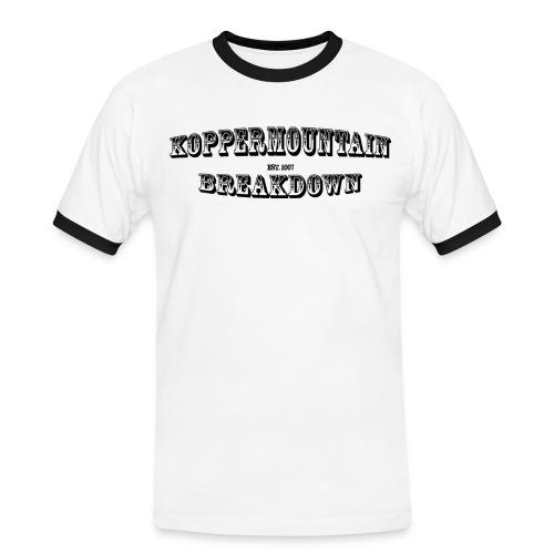 Koppermountain - Kontrast-T-shirt herr