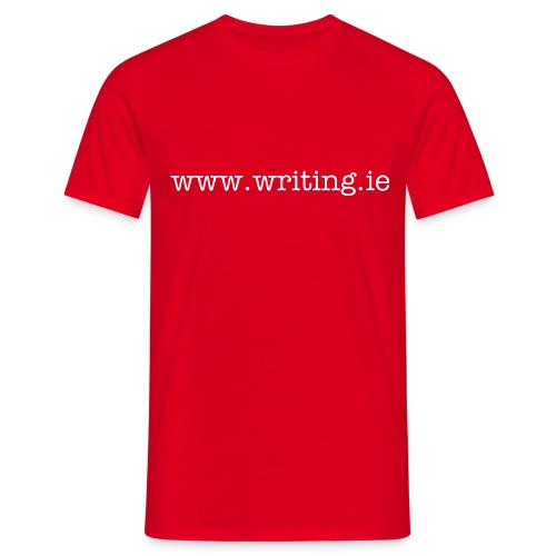 writing.ie mens - Men's T-Shirt