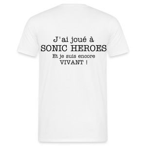 Sonic Heroes - High Quality - T-shirt Homme