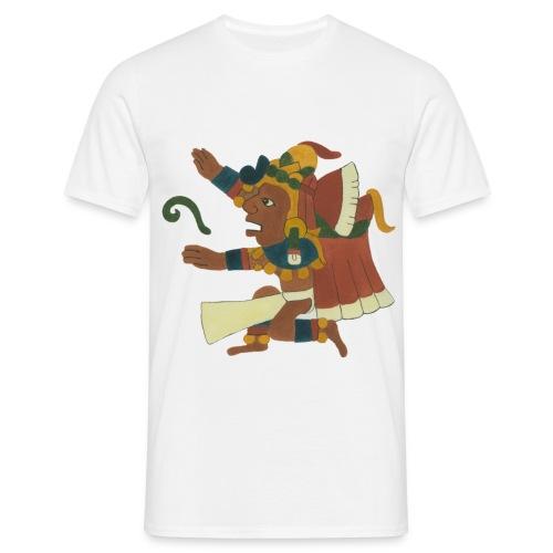 01.XHIUTECUTHLI - Creator god No 01 - Men's T-Shirt