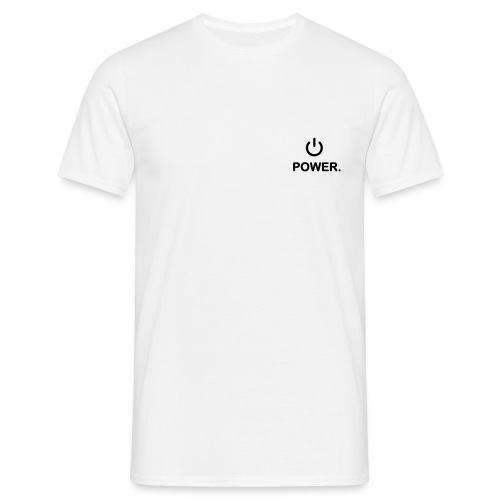 Power on - Men's T-Shirt