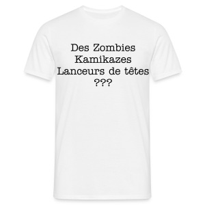 T-Shirt Zombies Kamikazes - T-shirt Homme