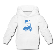 Pullover & Hoodies ~ Kinder Premium Kapuzenpullover ~ Traktor - Kinder Kapuzenpullover