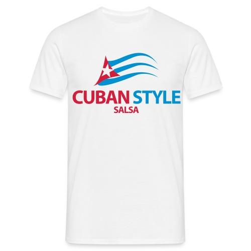 Cuban Style Salsa - T-shirt Homme