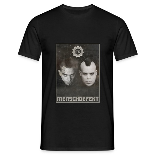 MENSCHDEFEKT ELECTROHEADS T-Shirt  - Männer T-Shirt