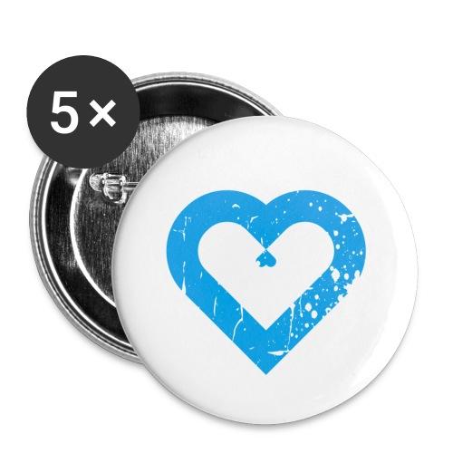 Retro Love - Buttons klein 25 mm