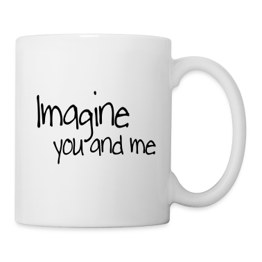 Bianco imagine you and me Tazze