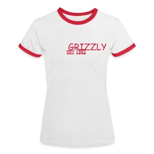 Das Girlie Fan Shirt - Frauen Kontrast-T-Shirt