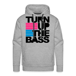 turn up the bass pulli - Männer Premium Hoodie