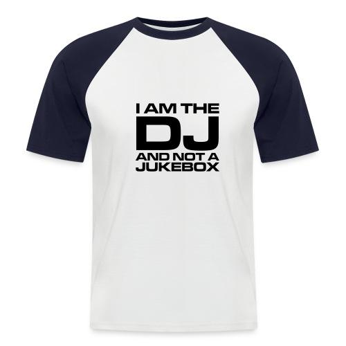 DJ Jukebox shirt - Mannen baseballshirt korte mouw