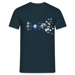 KDE Magic - Men's T-Shirt