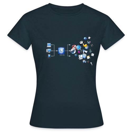 KDE Magic - Women's T-Shirt