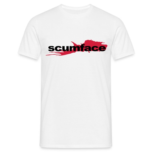 Scumface Reservoir Dogs Logo T-shirt (White) - Men's T-Shirt