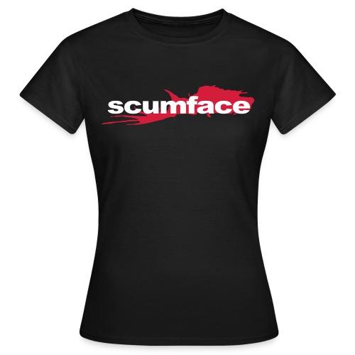 Scumface Reservoir Dogs Logo Ladies T (Black) - Women's T-Shirt