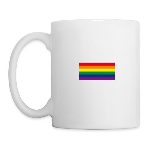 Tasse mit Regenbogenfahne - Tasse