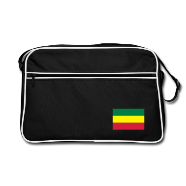 Black/white Reggae Bags