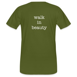 walk in beauty - Männer Bio-T-Shirt