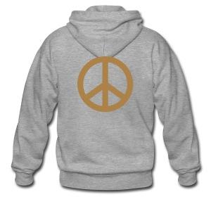 Jacke Peace - Männer Premium Kapuzenjacke