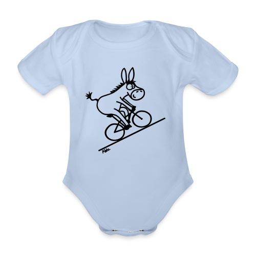 Scalatore - Body ecologico per neonato a manica corta
