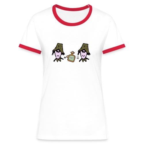Zider = Appy contrast tee - Women's Ringer T-Shirt